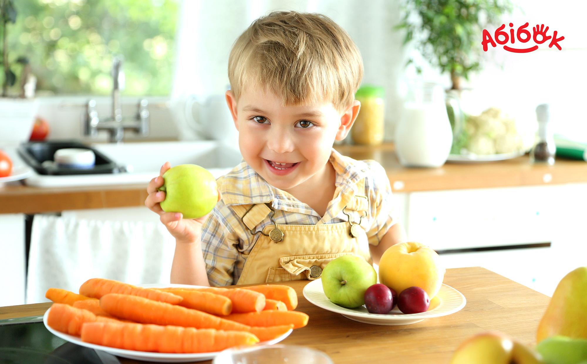 Детское питание Абiбок